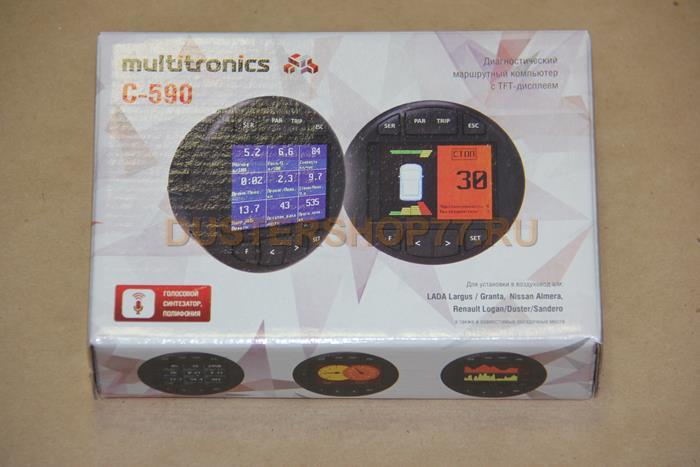 Бортовой компьютер Multitronics C590